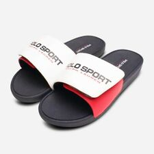 Ralph Lauren Kids Leary II Slider Sandals in Red White Blue