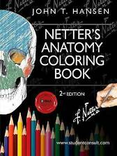 Netter's Anatomy Coloring Book: with Student Consult Access, 2e (Netter Basic Sc