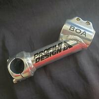 Ultracycle tige ajdust Quill 1X90 Noir 25.4 forgé 0-60 Deg