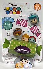Series 10 Disney Tsum Tsum Fauna /& Owl /& Surprise Figure NEW 1005 1011