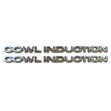 Cowl Induction Hood Emblem Set Chevelle & El Camino