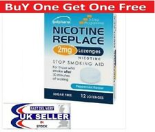 Nicotine Replace Lozenges (Peppermint Flavour Stop Smoking Aid)