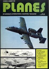 PLANES MAGAZINE 1983 SUMMER BIG TOUGH WARTHOG, AV-8A'S AND THE HOOTOWLS, A BEAU