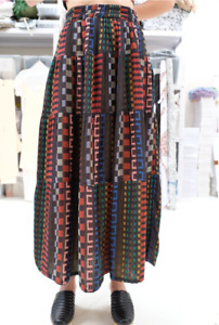 ACE & JIG Mojave Skirt in Fiesta 100% cotton size Small new w tags