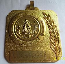 Médaille de Tir Championnat Champagne Chalons  1987  Champion