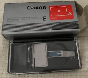 Canon Focus Screen E-A for EOS 620 and 650