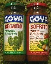 SOFRITO & RECAITO GOYA Cooking Base (12 oz) Jar  *Puerto Rico*