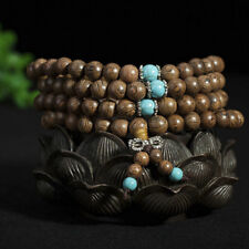 Necklace Mala 6mm 108 Beads Buddhist Bracelet Tibetan Buddhist Prayer Wood`