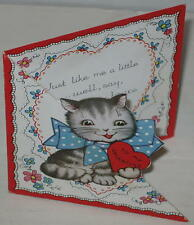 "1940's ""Just Like Me A Little................."" Valentine Card"