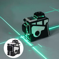 3D 12 Line Laser Level Self Leveling Point 360 Rotary Automatic Measure Tool