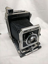 Graflex 4x5 Super Graphic Camera Bundle (Mastraco Case, Battery Case, Flash Ect.