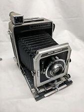 Graflex 4x5 Super Graphic Camera Bundle (Mastraco Case, Battery Case, Flash Ect.