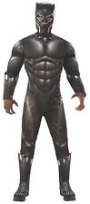 Rubie's Official Marvel Black Panther Deluxe Movie Costume Adult Standard Size