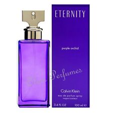 Eternity Purple Orchid by Calvin Klein Edp Spray 3.4oz 100ml * New in Box Sealed