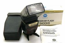 Minolta Program Flash 5400HS boxed MINT-