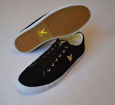 Brand new LYLE & SCOTT Black Deck Shoes Pumps Casual Trainers Mens Sz. 9 UK