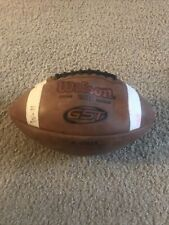 WilsonGst 1003 football. Used. Damage/Deflated. Does Not Hold Air.