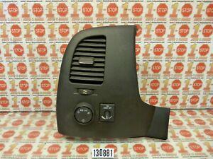 07-14 GMC SIERRA HEADLIGHT INTERIOR DIMMER SWITCH W/AC VENT 25905506 OEM