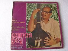 Classical Songs From Films Manna Dey Hindi LP Record Bollywood India-1380