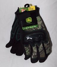 West Chester John Deere Mens Utility Vehicle Sports Camo Glove Large or XLarge