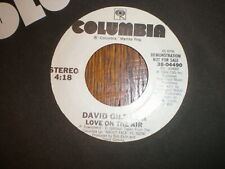 David Gilmour 45 Love On The Air COLUMBIA PROMO