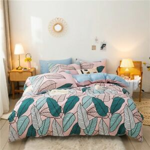 NEW CLASSIC CUSTOM BEDDING SET FOR WINTER SUMMER 4PCS/SET PATTERN DUVET COVERS