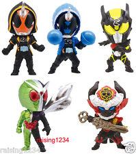 BANDAI Kamen Masked Rider Swing Gashapon Figure (Set 5 pcs) Ghost W Drive