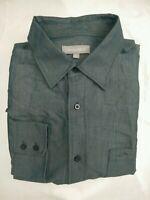 Wolsey Blue Shirt Long Sleeve Modal | Size Large | Super Soft | VGC