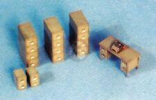 Custom Dioramics 1/35 Office Furniture (Desk, Typewriter, File Cabinets) CD-6023
