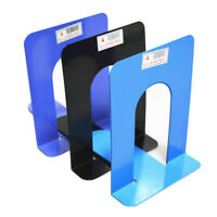 "2X6.7"" L-Shaped Bookend Anti-skid Solid Shelf Book Holder Home Office EB"