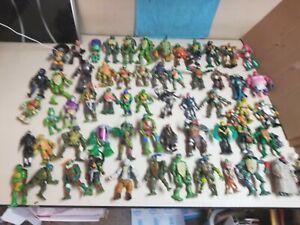 TMNT Teenage Mutant Ninja Turtles Lot OF 60 Figures * HUGE LOT! *