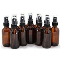 Glass Essential Oil Mist Spray Bottle Amber 10/15/20/30/50/100ML Reliable New