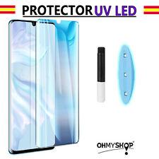 Protector Pantalla Xiaomi Mi Note 10 Uv Led Cristal Templado Completo Curvo 9H