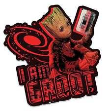 Bambino Groot azienda nastro GUARDIANI DELLA GALASSIA vol. 2 CARTONE Ritaglio Wall Art