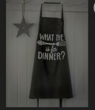Novelty apron What the Fork is for Dinner