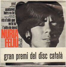 "NURIA FELIU ""PEOPLE"" VOCAL JAZZ 60'S EP EDIGSA 102"