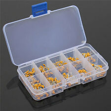 300pcs 10 Value 50V 10pF To 100nF Multilayer Ceramic Capacitor Assortment Kit NE
