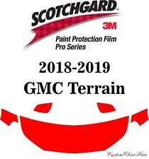 3M Scotchgard Paint Protection Film Pro Series Clear Kit 2018 2019 GMC Terrain