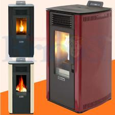 Stufa a Pellet Ventilata Qlima Fiorina 74S 8,24Kw riscaldamento fino a 200 m³