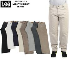 VINTAGE LEE BROOKLYN LIGHTWEIGHT CHINO JEANS GRADE A 29 in. to 44 in.