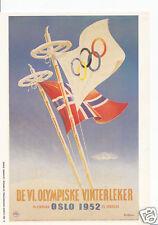 Sports Postcard - The Olympics - Vinterleker, Oslo 1952 - Y53