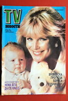 LINDA EVANS DYNASTY ON COVER 1986 RARE EXYUGO MAGAZINE