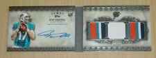 2012 Topps Five Star Ryan Tannehill autograph rookie book booklet patch 6/42