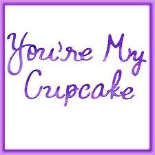 Sizzlits You're My Cupcake Alphabet 9 die set #655200 Retail $44.99 RETIRED!!