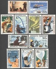 AAT 1966 Antarctic/Penguin/Helicopter/Weather/Aurora/Polar/Seals/Dogs 11v n39360