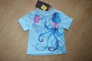 T-Shirt Catimini Twist Size 6 Month 26 13/16in Top Cotton Strech