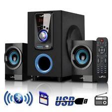 beFree 2.1 Channel Surround Sound Speaker System w/Bluetooth USB/SD FM Remote