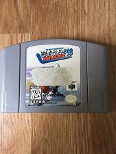 Wayne Gretzky's 3D Hockey 98 Nintendo 64 N64 Game Cart Works NG1