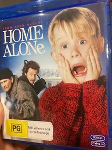 Home Alone BLU RAY (1990 Macaulay Culkin family Christmas comedy movie)