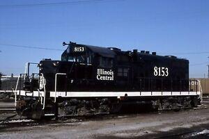 Illinois Central GP10 # 8153  @ Chicago IL 12/08/1989